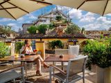 Die Terrasse Rooftop Bar Unseres Boutique Hotels In Rom 9 Hotel in proportions 1800 X 1200