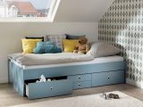 Enorm Wellembel Kojenbett Jugendbett Schubladen Hellblau Xxl 71049 intended for measurements 3840 X 2547