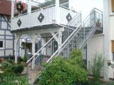 Holzbalkon Bauen Amazing So With Stahltreppe Selber Balkon Treppe with size 1024 X 768